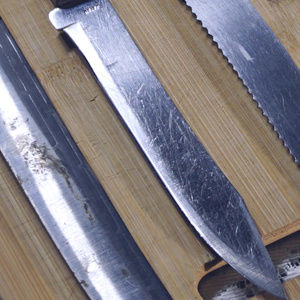 Forgecraft Kitchen - Vintage Forgecraft slicing knivesVGUC